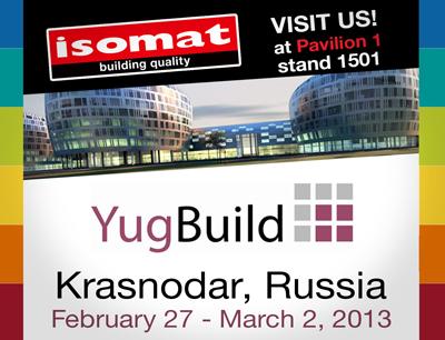 ISOMAT IN YugBuild 2013, RUSSIA