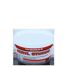 ISOMAT ACRYL STUCCO Ακρυλικός, έτοιμος προς χρήση στόκος σπατουλαρίσματος