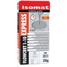 FLOWCRET 1-10 EXPRESS τσιμεντοκονίαμα εξομάλυνσης δαπέδων