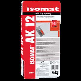 ISOMAT AK-12 Ρητινούχα, τσιμεντοειδής κόλλα πλακιδίων με μηδενική ολίσθηση