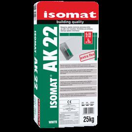 ISOMAT AK-22 Υψηλής ποιότητας, εύκαμπτη, ρητινούχα, τσιμεντοειδής κόλλα πλακιδίων