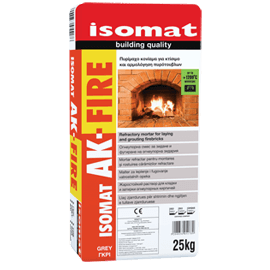 ISOMAT AK-FIRE Πυρίμαχο κονίαμα