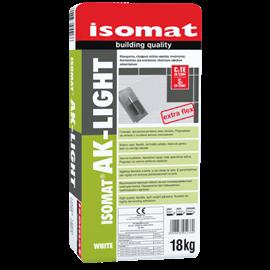 ISOMAT AK-LIGHT Υψηλής ποιότητας, ελαφριά, εύκαμπτη, ρητινούχα, τσιμεντοειδής κόλλα πλακιδίων