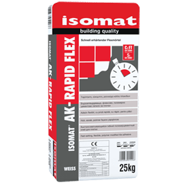 ISOMAT AK-RAPID FLEX τσιμεντοειδής κόλλα πλακιδίων και φυσικών λίθων