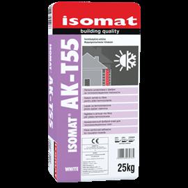ISOMAT AK-T55 Ινοπλισμένη, ρητινούχα, τσιμεντοειδής κόλλα θερμομονωτικών πλακών