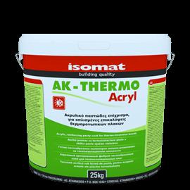 ISOMAT AK-THERMO ACRYL Ακρυλικό, έτοιμο προς χρήση, ινοπλισμένο επίχρισμα για θερμομονωτικές πλάκες