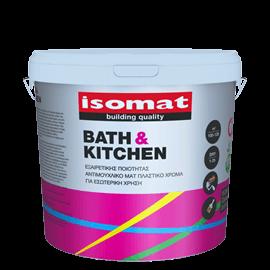 ISOMAT BATH & KITCHEN Εξαιρετικής ποιότητας, αντιμουχλικό, ματ πλαστικό χρώμα για εσωτερική χρήση