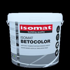 ISOMAT BETOCOLOR Ματ ακρυλικό τσιμεντόχρωμα για εξωτερική χρήση