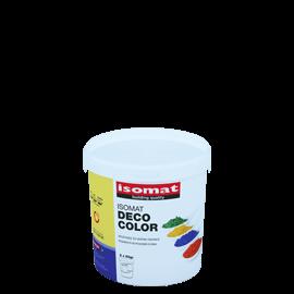 ISOMAT DECO COLOR Υψηλής ποιότητας, ανόργανες χρωστικές σε μορφή σκόνης για χρωματισμό κονιαμάτων και σκυροδέματος
