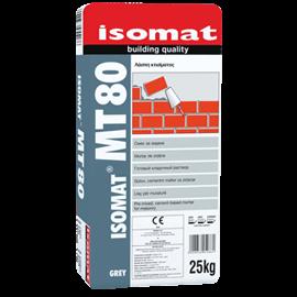 ISOMAT MT-80 Τσιμεντοκονίαμα - Λάσπη χτισίματος