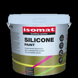 ISOMAT SILICONE PAINT ματ σιλικονούχο χρώμα για εξωτερική χρήση