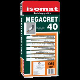 MEGACRET-40 επισκευαστικό τσιμεντοκονίαμα υψηλών αντοχών