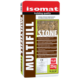 MULTIFILL-STONE τσιμεντοκονίαμα για χτίσιμο και αρμολόγηση πέτρας