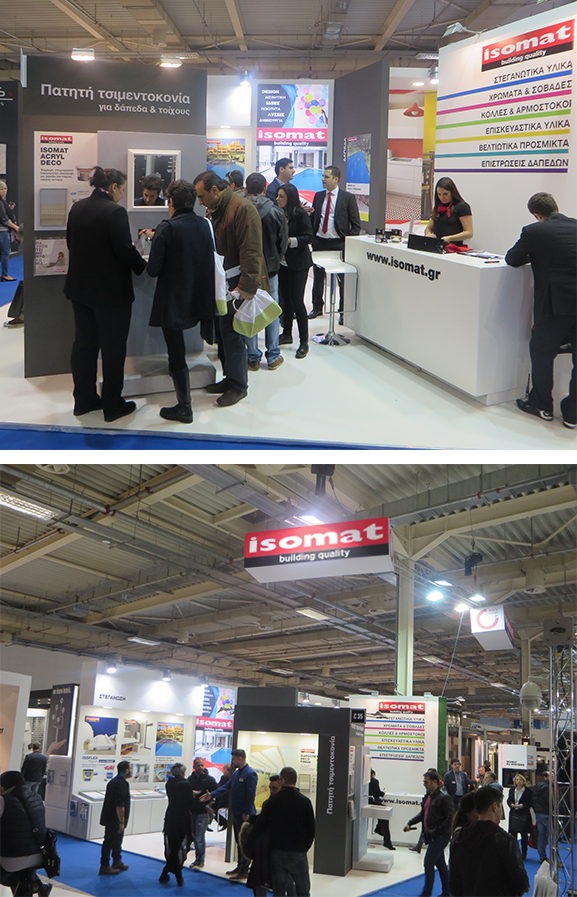 ISOMAT was present at HORECA 2017 exhibition in Athens