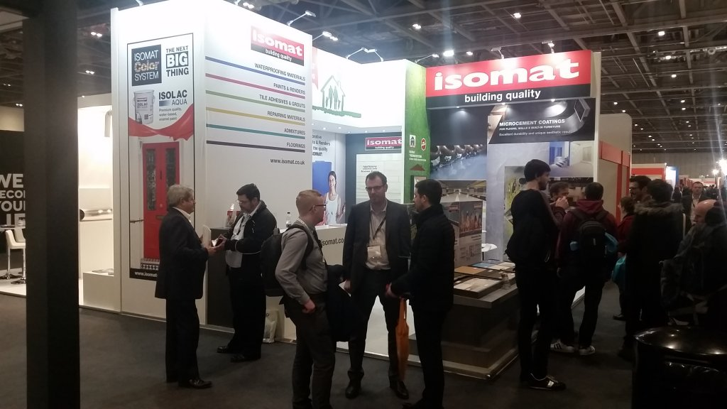 ISOMAT participation at ECOBUILD 2017 in London