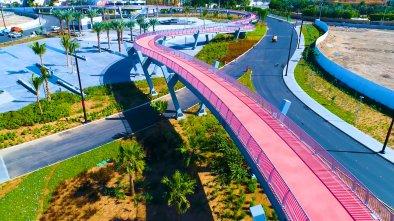 Πεζογέφυρα στη Σαουδική Αραβία