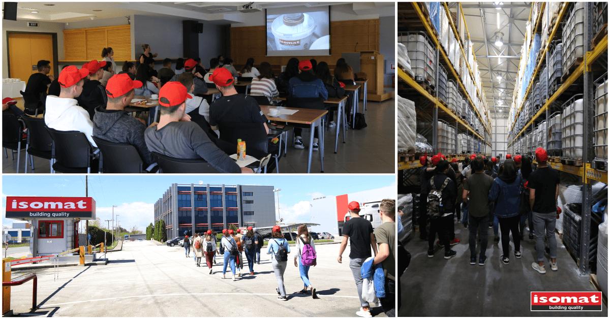 Η ISOMAT κοντά στην εκπαίδευση: επίσκεψη μαθητών του 5ου Γυμνασίου Ωραιοκάστρου