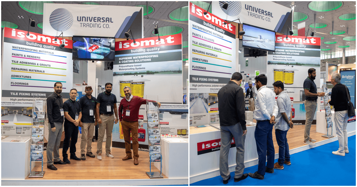 """ISOMAT successfully participated in the """"Project Qatar 2019"""