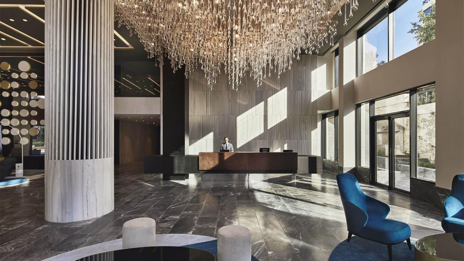 reception ξενοδοχείου