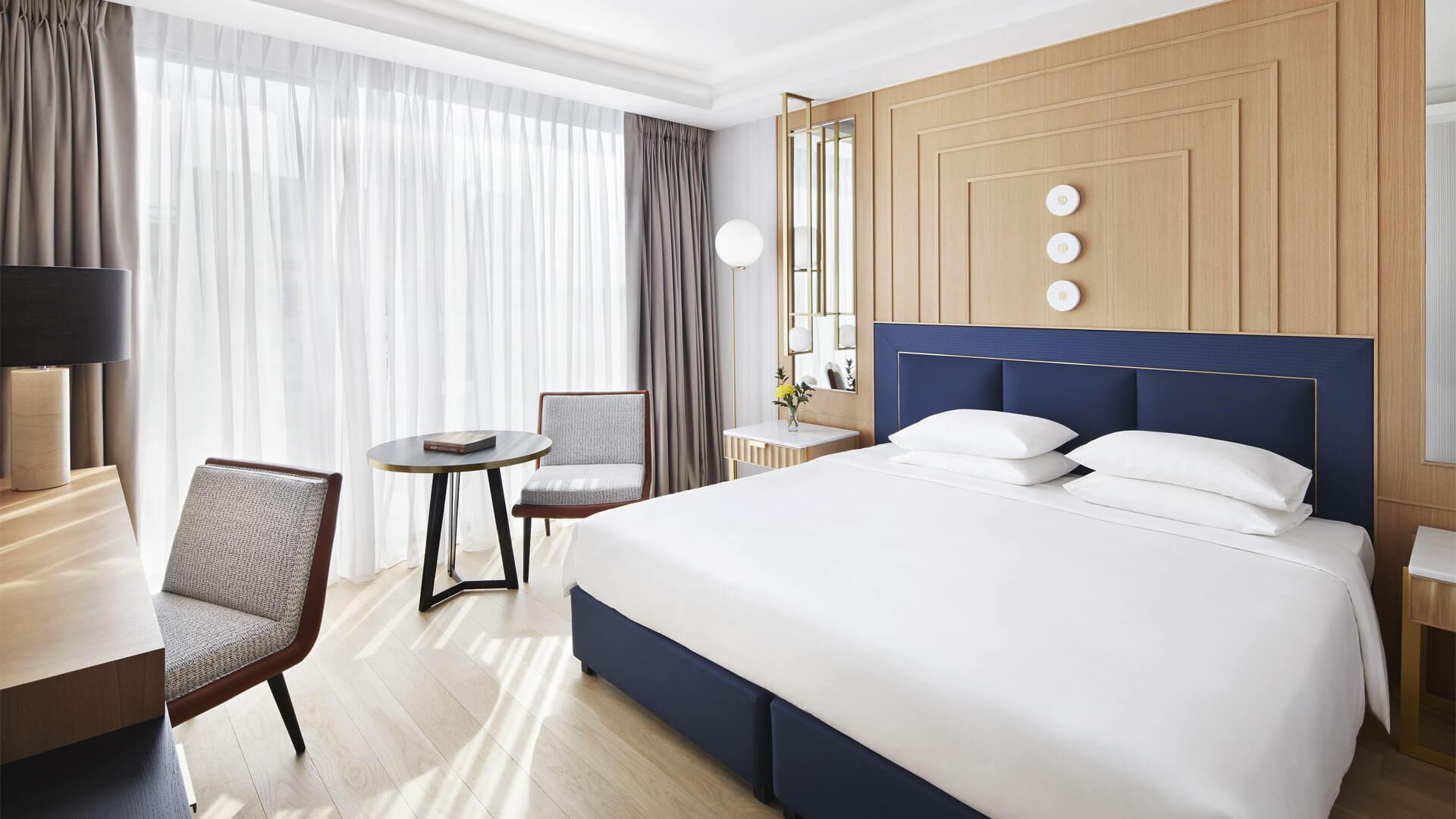 δωμάτιο ξενοδοχείου grand hyatt
