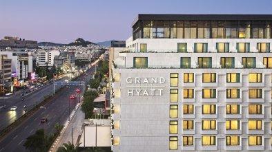 grand hyatt εξωτερική φωτογραφία