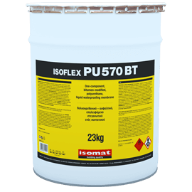 ISOFLEX-PU 570 BT Πολυουρεθανικό - ασφαλτικό, επαλειφόμενο στεγανωτικό